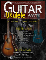 GUITAR & UKULELE LESSONS / Westport Area