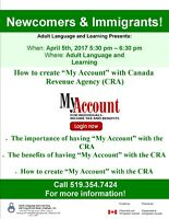 "How to Create ""My Account"" with Canada Revenue Agency"