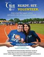 Relay For Life Volunteers needed!