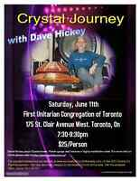 David Hickey Crystal Journey Concert