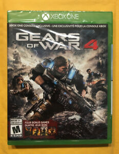 Gears of War 4 [Brand New Sealed] (Xbox One) Need Gone ASAP