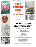 Adult Painting and Drawing Classes