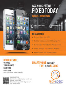 CHEAPEST  CELL PHONE REPAIR ,IPAD ,TABLET  IN TOWN 905-397-5134