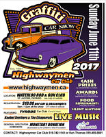 Graffiti Car Show 2017 by the Highwaymen Car Club
