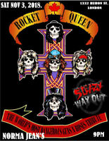 Rocket Queen Returns To Norma Jean's, Wsg: Sleazy Way Out