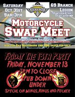 Motorcycle Swap Meet, Ride For Dad Saint John