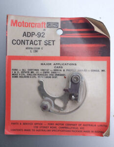 Motorcraft contact point ADP-92 AEOTA - 12199C ZEPHYR cortina South Melbourne Port Phillip Preview