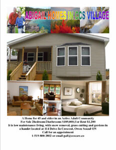 Furnished home for 45 and older in an Active Adult Community