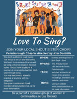 *NEW LOCATION - Peterborough Shout Sister Welcoming New Members