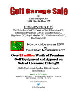 2015 Golf Garage Event!!!