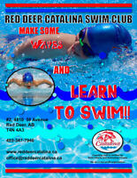 "Red Deer Catalina Swim Club ""Learn to Swim Program"""