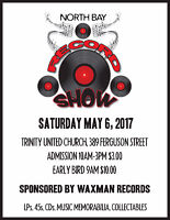 North Bay Record Show - Spring 2017