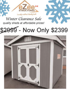 8x8 A-Frame Shed for Sale at an unbeatable price!