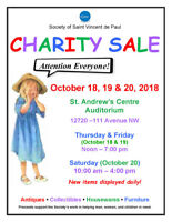 Charity Sale- Antiques, Collectibles, Furniture & More