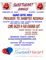 CHARITY SWEETHEART DANCE