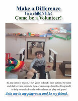 Volunteer Needed-You Can Make a Difference- Autism
