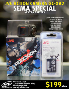 JVC ADIXXION GC-XA2 HD ACTION CAMERA