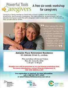 Powerful Tools for Caregivers Workshop Series