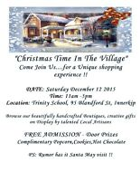 """""""CHRISTMAS IN THE VILLAGE"""""""
