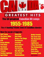 CANADA'S GREATEST HITS Party Show Concert Band rock