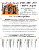 Love to Sing? Shout Sister Stratford is Welcoming New Members!