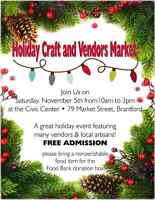 Holiday Craft and Vendors Market