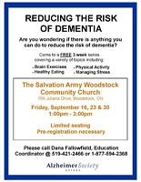 Reduce Your Risk of Developing Dementia