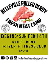 BELLEVILLE ROLLER DERBY recruiting new skaters 2016!!
