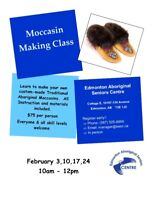Moccasin Making Class