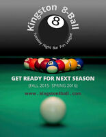 TUESDAY NIGHT MIXED EIGHT  BALL POOL LEAGUE