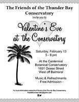 VALENTINE'S EVE AT THE CONSERVATORY