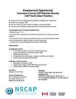 CAP Youth Intern Position