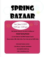 Spring Bazaar - Bob Rumball Home for the Deaf - Barrie