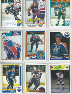 GRETZKY Hockey Card Collection (1980-1993)