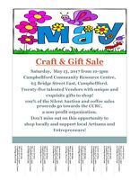 Campbellford Craft & Gift Sale/Vendors Wanted