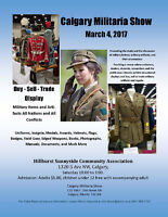 1st Annual Calgary Militaria Show