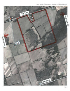 96 acre building lot close to Peterborough