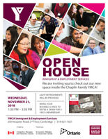 YMCA Immigrant & Employment Services OPEN HOUSE!