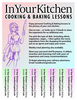 In Your Kitchen Lessons