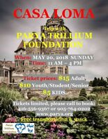 Casa Loma trip with discounted tickets