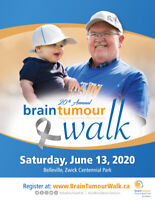 BELLEVILLE BRAIN TUMOUR WALK 2020