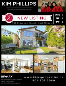 NEW LISTING - Updated Family Home in Port Moody
