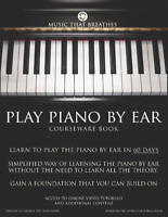 Play Piano By Air - Courseware book