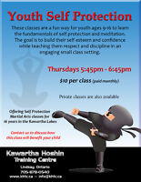 Youth Self Protection Classes