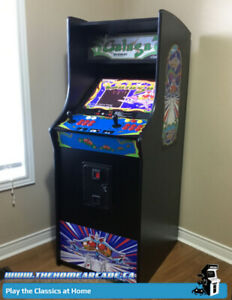 The Stand-up Home Arcade Cabinet with 9,880 games & Warranty
