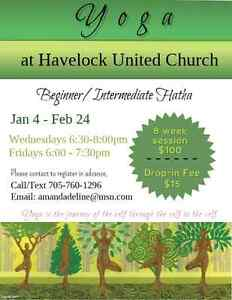 Yoga at Havelock United Church Peterborough Peterborough Area image 1