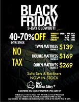 Dow's Mattress Gallery + Black Friday Event
