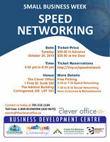Speed Business Networking in Collingwood Ontario