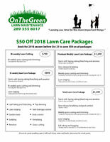 Lawn Maintenance - Booking now for 2018 Season