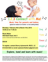 1,2,3 Connect with Me Music Program